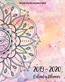 Two Year 2019-2020 Calendar Planner: Two Year - Daily Weekly Monthly Calendar Planner   24 Months January 2019 - December 2020   mandala Style