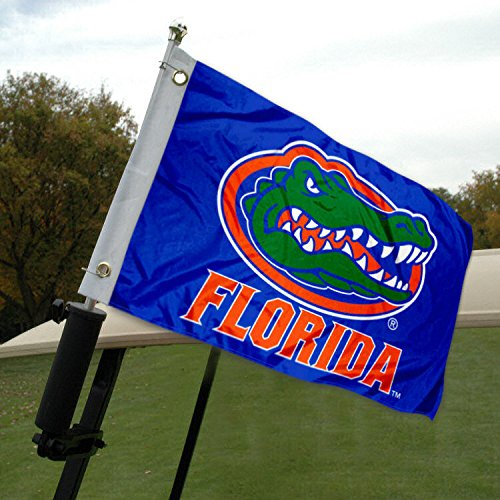 Golf Gators Florida Nylon - Florida Gators Golf Cart and Boat Flag