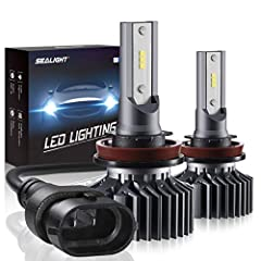 NOTES:Please note that S1 series bulbs are without CANBUS-Ready.Advantage:Smallest and Perfect light pattenQuestion & AnswerQ: What should i do if headlight bulbs don't work after installation?A:The headlight bulbs are polarity sensitive ...