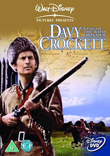 Disney Davy Crockett - King Of The Wild Frontier (1995) DVD (Davy Crockett Dvd)