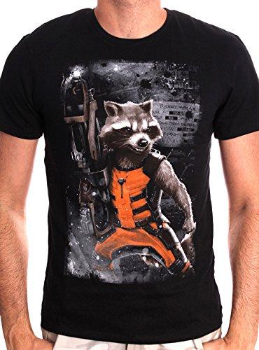 Marvel-Rocket-Raccoon-Camiseta-Hombre