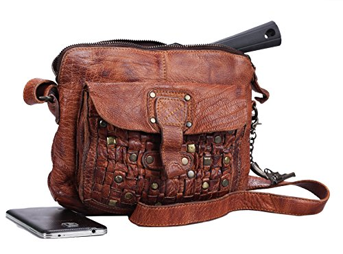 Greenburry Billy the Kid Sac bandoulière cognac