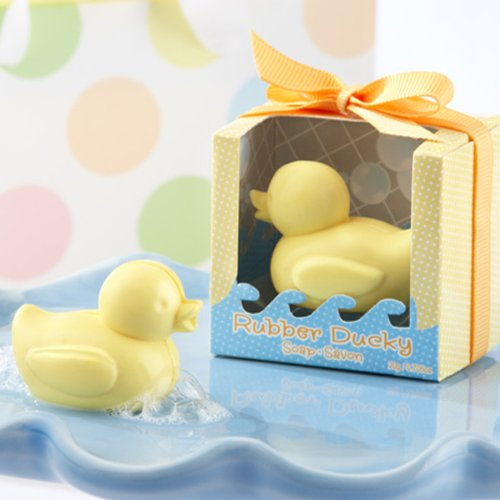 Creative Soap for Wedding Soap Favors and Gifts or Baby Shower Soap Favors (30, Rubber Duck Soap) -