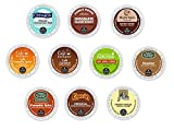 20 Count - Fall Variety Flavored Coffee Pack K-Cups For Keurig Brewers - 10 flavors