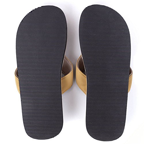 For Running And Women Soles Brown Pr Men Sandals Recovery A Flops Gone Run Flip UP7qdXX