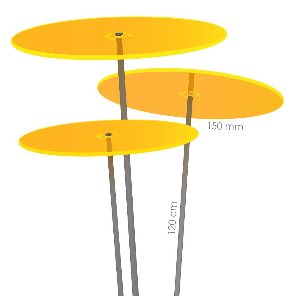 Cazador-del-Sol MEDIO TRES - collettore del sole - giallo