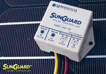 Morningstar SG-4 SunGuard 4.5 Amp PWM Charge Controller 12 Volt by Morningstar Corporation