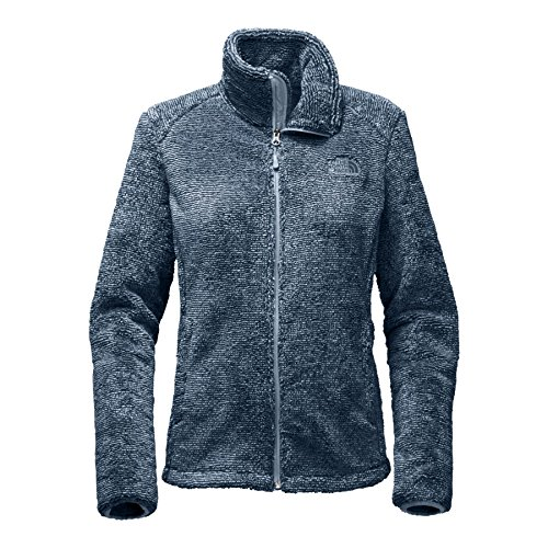 The North Face Women's Osito 2 Jacket - Bue Wing Teal and Dusty Blue Stripe - XXL