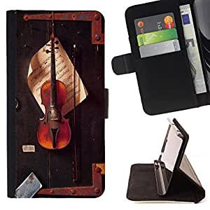 Dragon Case - FOR Apple Iphone 5 / 5S - The quiet moment - Caja de la carpeta del caso en folio de cuero del tirš®n de la cubierta protectora Shell