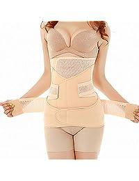 3in1 Breathable Postpartum Recovery Belly Shapewear Belt Body Shaper Wrapper Belt