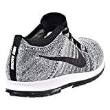 b1e966bbf8da3 Nike Flyknit Streak Unisex Running Shoes Black Black-Wolf Grey-White 835994-003  (8 D(M) US)