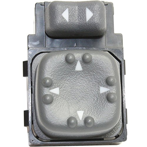 Evan-Fischer EVA4887181526 Mirror Switch for BLAZER 98-05/S10 PICKUP/SONOMA 98-04/BRAVADA/JIMMY 98-01 4 Male Terminals Pins Type - 2003 Chevrolet Blazer Mirror