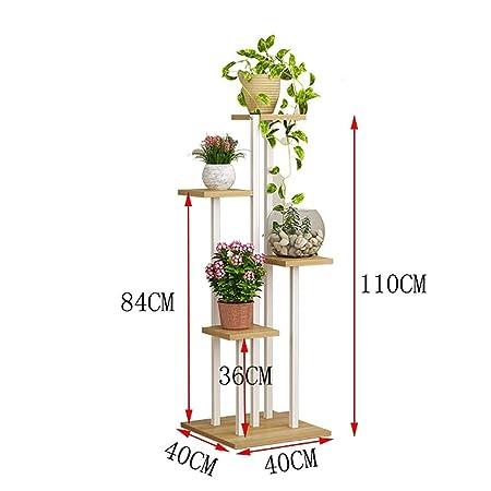 Puesto de plantas Soporte de flores vertical, soporte de planta de ...