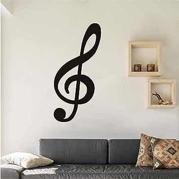Zxfcccky Alta Calidad Clave De Sol Nota Musical Etiqueta De La ...