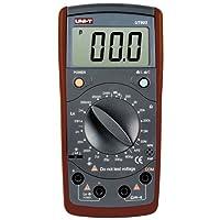 Uni-T ut-603Messgerät Induktivität und Kapazität, Schwarz
