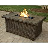 Agio Kolea Bay Fire Pit Table with FREE Cover