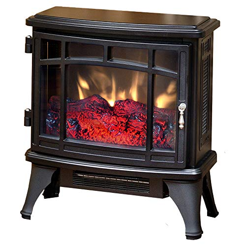 Duraflame Electric Infrared Quartz Fireplace Stove, Black