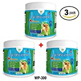 PawPaws Anxiety Relief for Dogs, Soft Chews, Natural Ingredients, Chamomile Flower, Passion Flower, Ginger Root, For All Dogs, Made in USA (3 Pack)