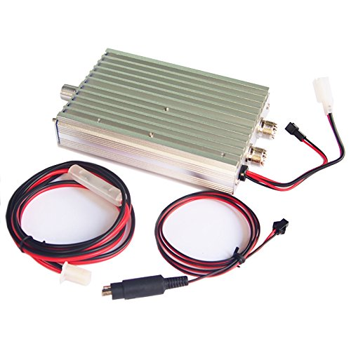 Yedemc 45w Hf Power Amplifier For Ft-817 Icom Ic-703 Elecraft Kx3 Qrp Ham  Radio Enhancing Transmission Power Silver