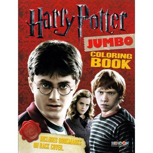 Harry Potter Book Of Monsters (Jumbo Coloring Book: 11