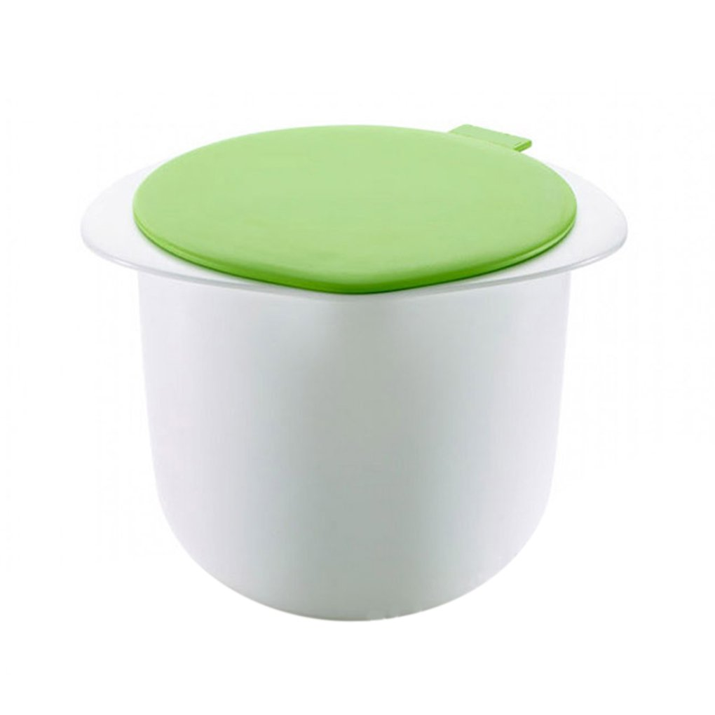 M-Egal Silicone PP Microwave Cheese Maker Fresh Healthy Cheese Maker White and Green White and Green 11.5*12cm