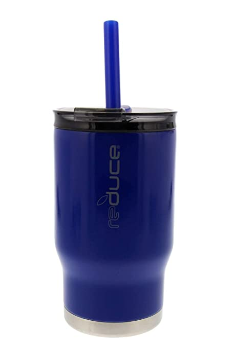 79f2451b3ce reduce COLDEE Vacuum Insulated Stainless Steel Kids Tumbler with Straw,  3-in-1 Lid, 14oz - Tasteless and Odorless, BPA Free, Portable & Great for  ...