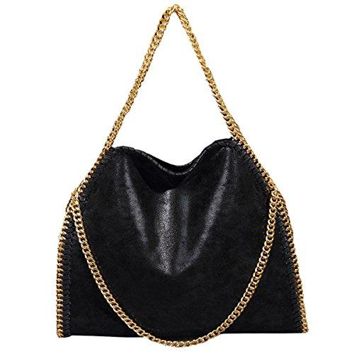 Leopard Print Hobo Bag - Goodbag Women Large Casual Hobo Totes Chain Shoulder Bag Faux Leather Satchel Purse