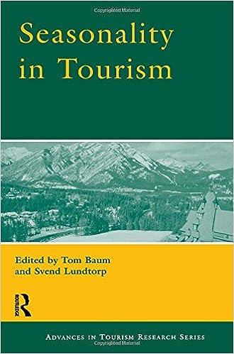 Amazon kostenlose Buch-Downloads für Kindle Seasonality in Tourism (Advances in Tourism Research) 0080436749 CHM