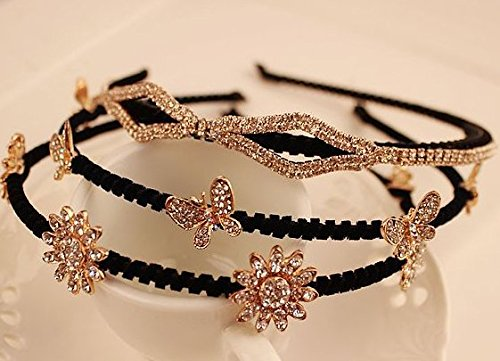 Quantity 1x Korean Fashion Crown Tiara Party Wedding Headband Women Bridal Princess Birthday Girl Gift _leaves_ flower -shaped_ Hair Ornaments new Stylish _alloy_insert_drill_full_hot_ Rhinestone ing