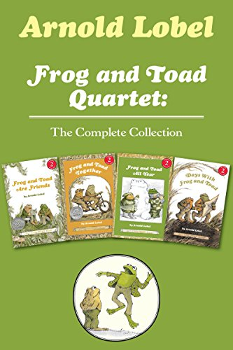Frog and Toad Quartet: The Complete Collection: I Can Read Level 2: Frog and Toad are Friends, Frog and Toad Together, Frog and Toad All Year, Days with Frog and ()