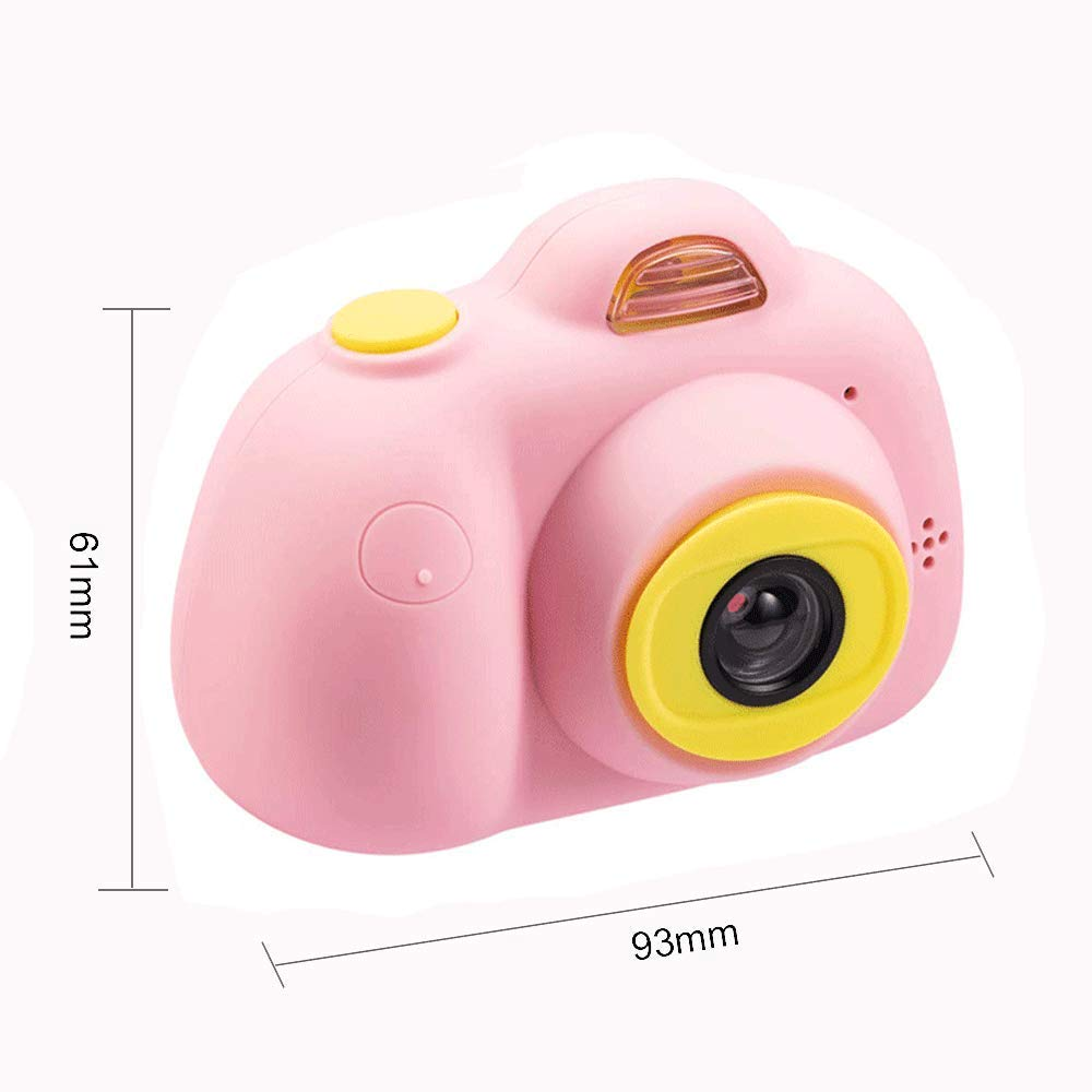 Balee Kids Digital Camera 2 inch Screen Digital Video Camera Creative DIY Selfie Camera for Kids with 16GB Memory SD Card (Pink) by Balee (Image #4)