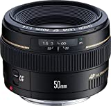 Canon EF 50mm f/1.4 USM Standard & Medium Telephoto Lens for...