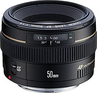 Canon EF 50mm f/1.4 USM Standard & Medium Telephoto Lens for Canon SLR Cameras - Fixed (B00009XVCZ) | Amazon Products