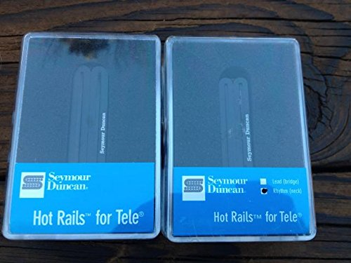 (Seymour Duncan STHR-1 Hot Rails Tele Pickup Set Telecaster Neck & Bridge)