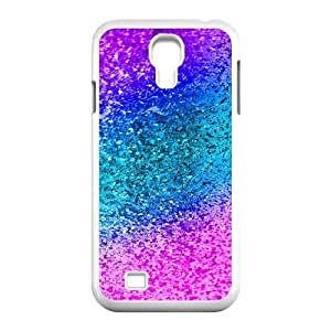 Case For Samsung Galaxy S4, Colored Plastic Granules Case For Samsung Galaxy S4, Doah White