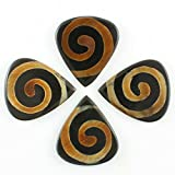 Timber Tones TRBTSN4 Tribal Tones Snake Pack of Four Guitar Picks