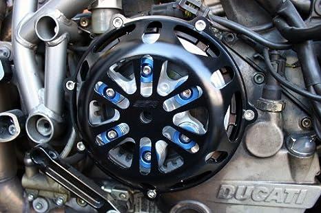 Ducati Negro Motor Tapa del embrague 748 749 996 999 1098 S: Amazon.es: Coche y moto