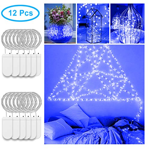fairy light battery blue - 6