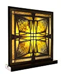 Frank Lloyd Wright Thomas Entry Ceiling Light Stained Glass