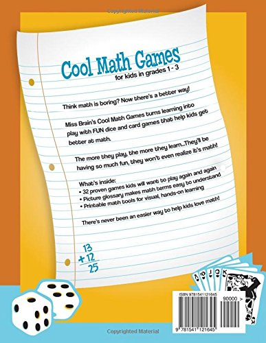 Miss Brain\'s Cool Math Games: For Kids In Grades 1-3 - Revised ...
