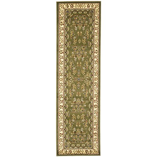 Green Persian Runner - Safavieh Lyndhurst Collection LNH331C Traditional Oriental Sage and Ivory Runner (2'3