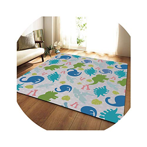 Big Europe Rug Carpet Soft Flannel Parlor Area Rugs Home Decor Children