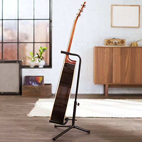 amazonbasics tripod guitar stand with security strap buy online in uae electronics products. Black Bedroom Furniture Sets. Home Design Ideas