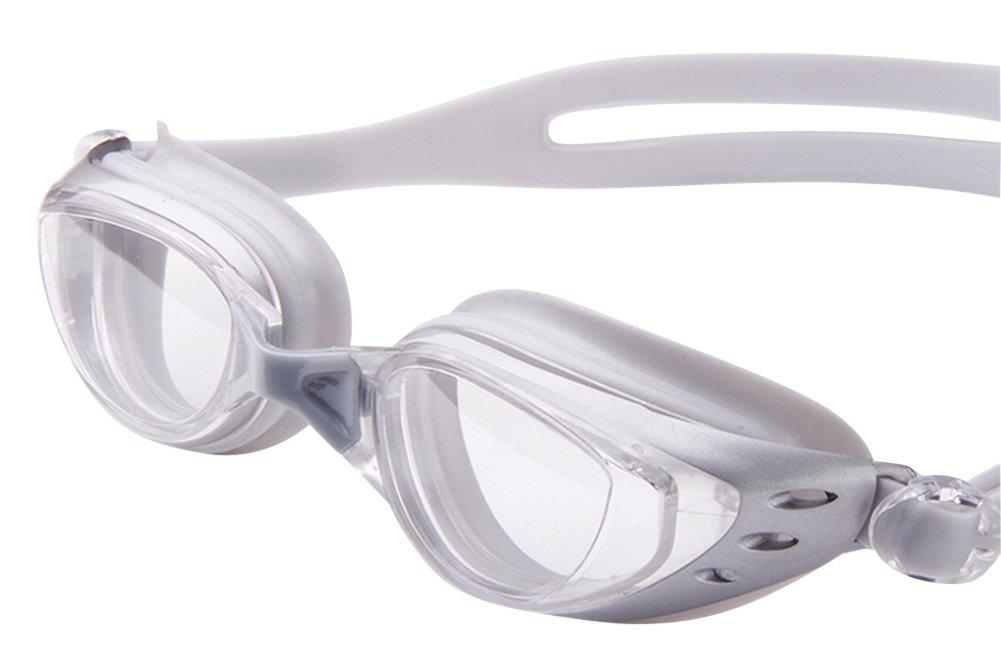 Moollyfox Unisex Contra Niebla Ordinaria Miopía Gafas de Natación