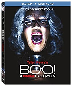 Cover Image for 'Tyler Perry's Boo! A Madea Halloween [Blu-ray + Digital HD]'