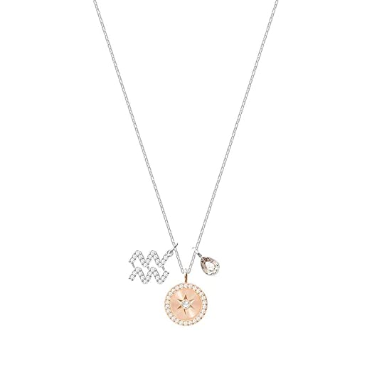 piece women star item one unique daisies zodiac pendant aquarius for constellation necklace sign astrology
