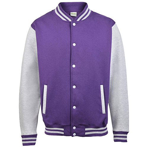 Jh043moxn Awdis burm Grey Giacca Uomo Heather Purple dwPOq8H