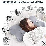 MARNUR Cervical Pillow Memory Foam Orthopedic