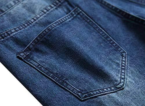 51osjEYVaTL. AC LAMKUKU Men's Ripped Jeans Slim Fit Casual Distressed Denim Pants    Product Description