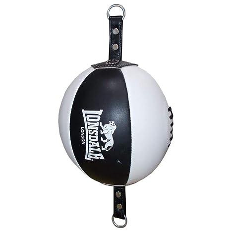 Lonsdale Branbarner - Pelota de Boxeo para Adultos, Color Negro y ...